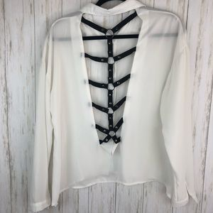 Harness back blouse from forever 21